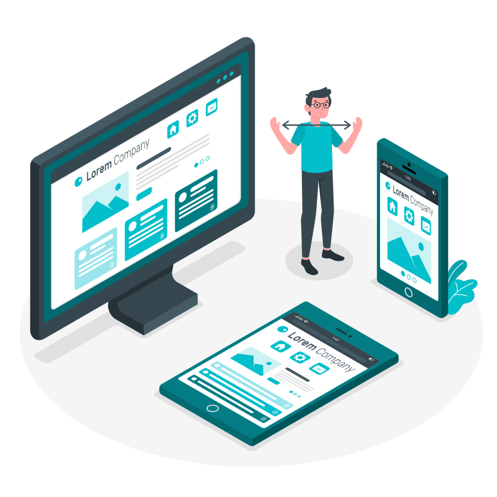 ROAN24 Responsive Webdesign