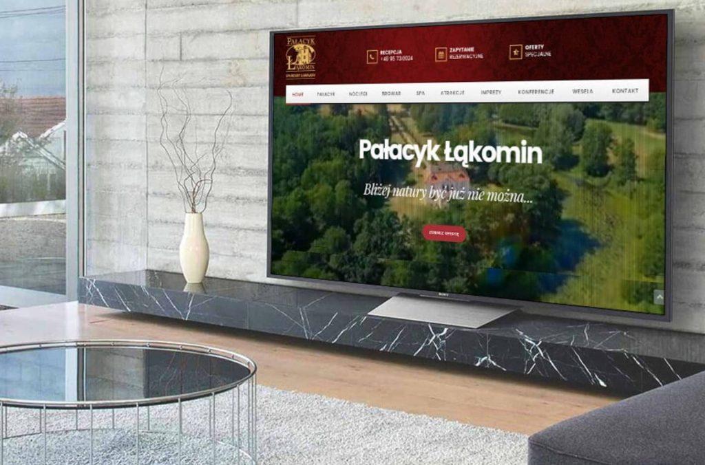 ROAN24 Łąkomin Schloss Website