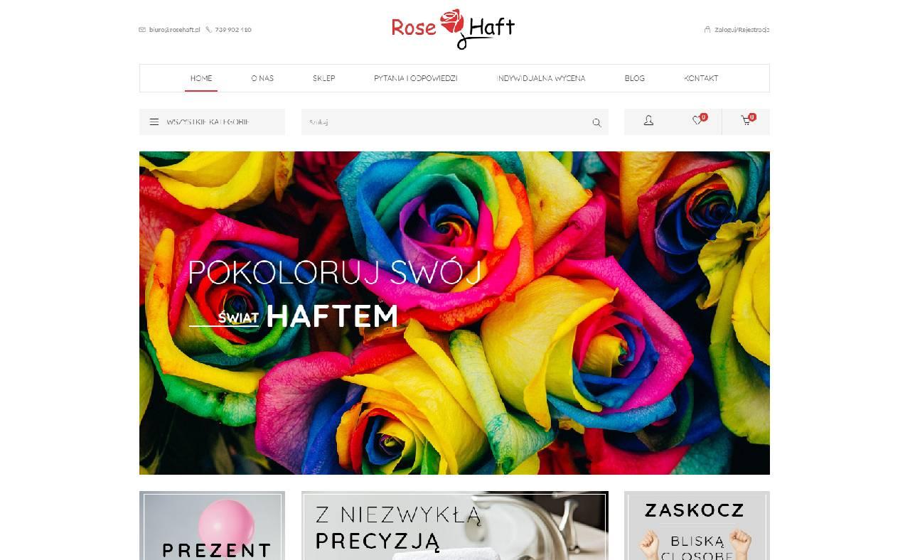 ROAN24 Rosen-Stickerei Online Shop HOME