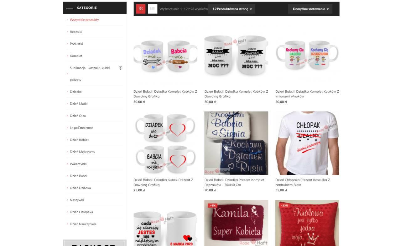 ROAN24 Rosen-Stickerei Online Shop