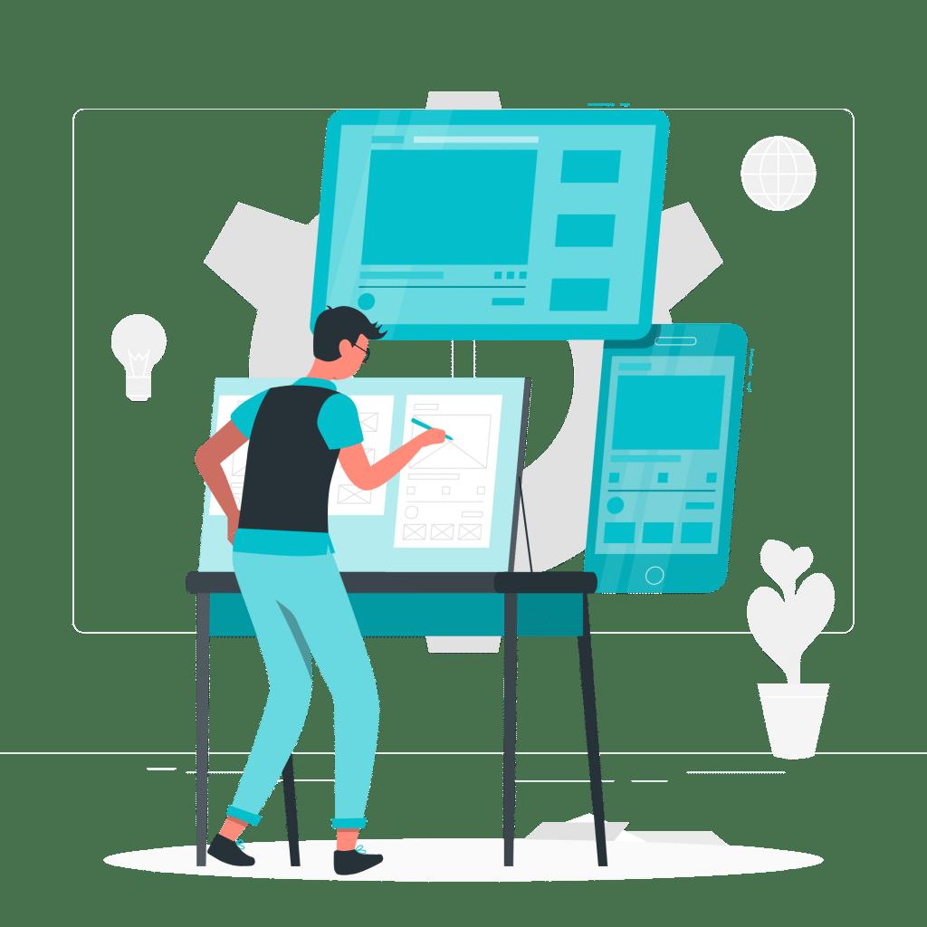 Gestaltung der Benutzeroberfläche